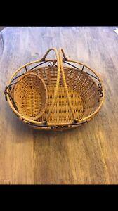 Princess House Wicker basket