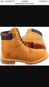 Men's used Timberland Boots