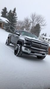 Silverado 1500 lifted and loaded