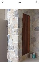 Stone cladding $50 a square meter or $500 for all 14 square meters Melbourne CBD Melbourne City Preview