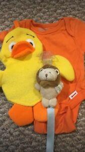 Three newborn items