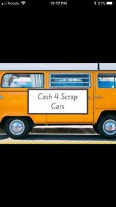 TOP DOLLARS FOR SCRAP USED UNWANTED CARS SAME DAY PICKUP!!☎️☎️