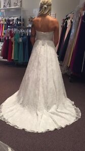 Brand new never worn wedding dress