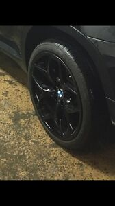 BMW X5 21 inch rim and tires