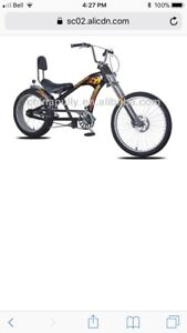 Looking for a chopper pedal ebike