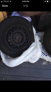 Winter Tires set of 4 with rims