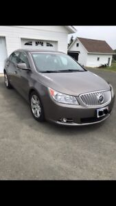 buick LaCrosse CXL 2010 fully equipped! luxurious interior!