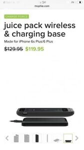 Mophie charging protective case for iPhone 6