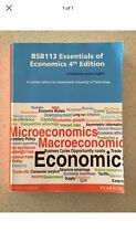BSB113 Essentials Of Economics 4th Edition Springfield Lakes Ipswich City Preview