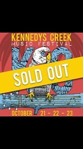 Selling 1 x Kennedys Creek Music festival ticket Brunswick Moreland Area Preview