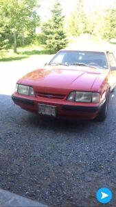 1988 Mustang notchback 5.0 7500 obo