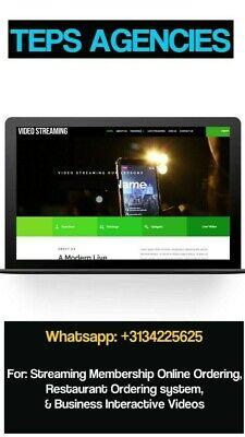 Live Streaming Membership Website Business