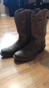Cowboy boots, almost brand new