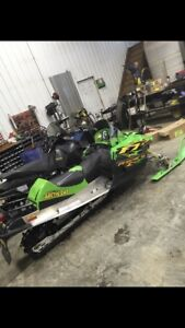 2004 arctic cat f7 firecat ext