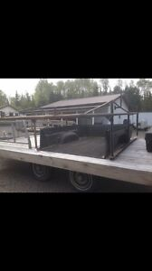 8ft boat rack,  6ft gm box liner and tool box