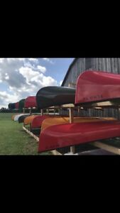 Scott Echo 14' Light-Weight Canoes on Clearance-2018 Models