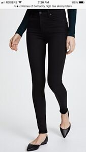 Citizens of Humanity rocket high rise skinny jeans aritzia zara