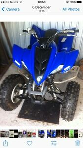 Yamaha Quad Raptor Stanthorpe Southern Downs Preview