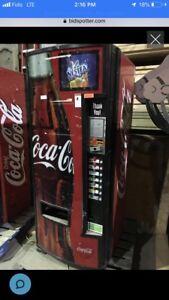 Vending machine Coca Cola