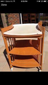 Stokke baby change table excellent condition Epping Ryde Area Preview