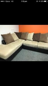 Leather suede lounge Maryland Newcastle Area Preview