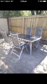 Outdoor settings 4 Chairs and Tables in very good condition