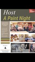 Who wants to host a paint night?