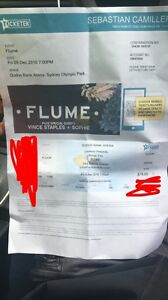 FLUME SYDNEY FRIDAY GA TICKET Springwood Blue Mountains Preview