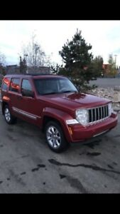 TRADE 2008 Jeep Liberty Limited