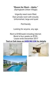 Room for fent Idalia Townsville City Preview