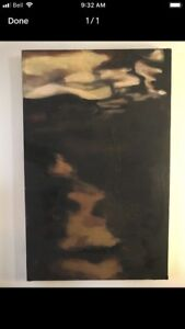"""Surface skim"" Original Oil Painting on Canvas, 2ftX3ft $100.00"
