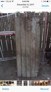 Original Antique Barn Door