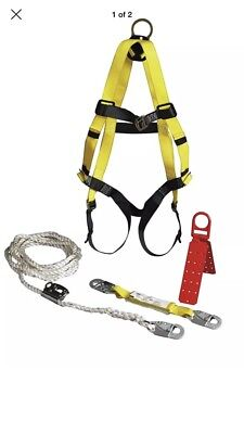 1-roofers Fall Protection Kit Full Set 3m