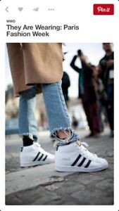 ADIDAS Superstar Up Wedge Sneakers size 6.5 US