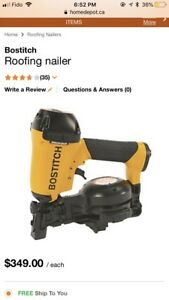 Bostitch rn46-1 roofing nailer - Brand new!!
