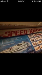 Speed X Boat — Remote controlled speed boat