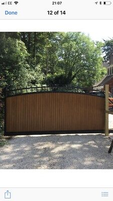 Cantilever driveway Electric Sliding Gate