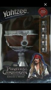 Yahtzee Game Pirates of the Caribbean Collectors Edition