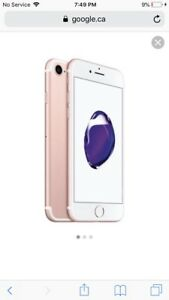 iPhone 7 32 g rose gold
