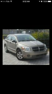 2009 Gold automatic Dodge Caliber Active registered calgary car