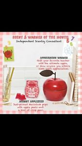 Scentsy's warmer and scent of the month!