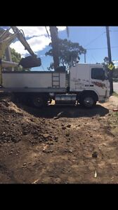 Soil / fill / dirt Removal ( Excavation ) tipper truck & excavator Blacktown Blacktown Area Preview