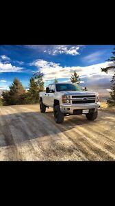 """2014 Chevy Silverado 1500 LT - 7"""" Lift"""