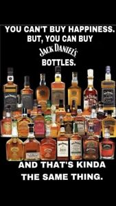 Looking for jack Daniels stuff.  Bottles signs tins anything