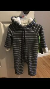 12 to 18 month fleece one piece