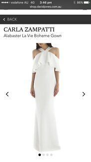 Carla Zampatti White La Boheme Gown
