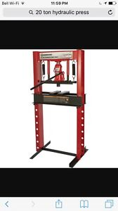 WANTED 20 ton or more hydraulic press!!!