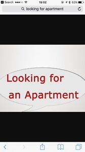 Looking for 2bdrm apartment - September