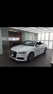 LEASE TAKEOVER - 2 year 2016 AUDI CONVERTIBLE