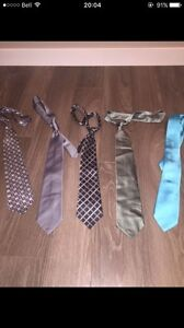 Ties ( all have been worn once to a wedding)